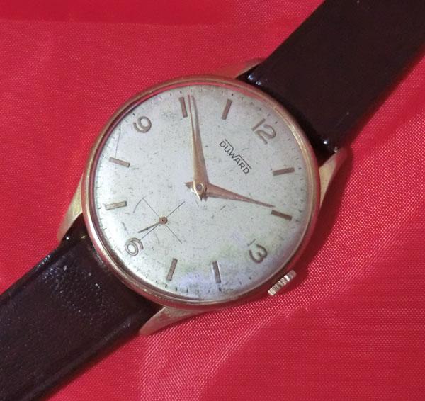 Reloj Suizo Duward 15 Rubis Cal As1130 Tama 209 O Grande